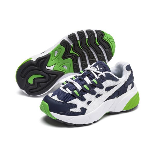 Zapatillas de niño CELL Alien OG, Puma White-Peacoat, grande