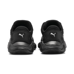 Thumbnail 3 of Storm Origin Youth Trainers, Puma Black, medium