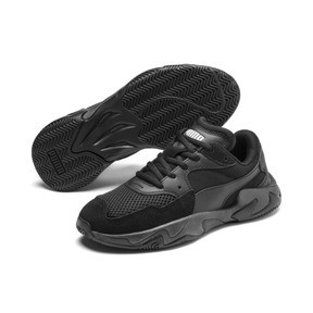 Thumbnail 2 of Storm Origin Youth Trainers, Puma Black, medium
