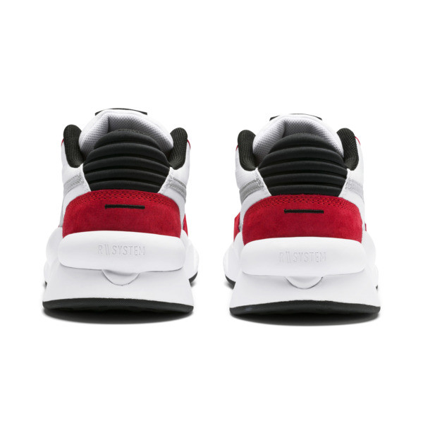 Zapatillas de niño RS 9.8 Space, Puma White-High Risk Red, grande