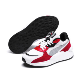 Imagen en miniatura 2 de Zapatillas de niño RS 9.8 Space, Puma White-High Risk Red, mediana