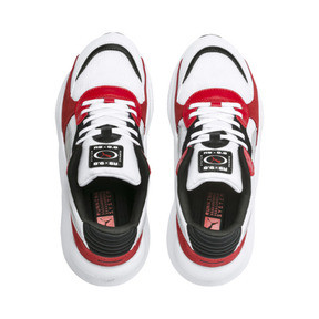 Imagen en miniatura 6 de Zapatillas de niño RS 9.8 Space, Puma White-High Risk Red, mediana