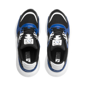 Thumbnail 6 of RS 9.8 Space Youth Trainers, Puma Black-Galaxy Blue, medium