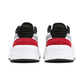 Thumbnail 3 of RS 9.8 Space Kids' Trainers, Puma White-High Risk Red, medium
