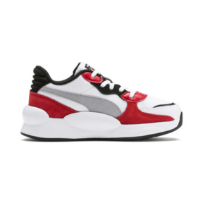 Thumbnail 5 of RS 9.8 Space Kids' Trainers, Puma White-High Risk Red, medium