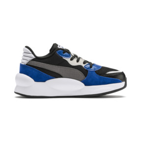 Thumbnail 5 of RS 9.8 Space Kids' Trainers, Puma Black-Galaxy Blue, medium