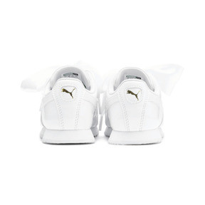 Miniatura 3 de Zapatos de charol Roma Heart para niña pequeña, Puma White, mediano