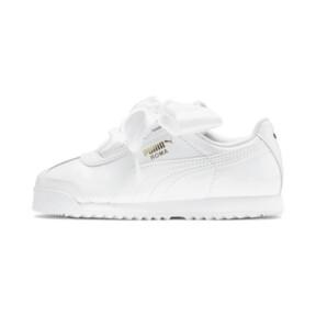 Miniatura 1 de Zapatos de charol Roma Heart para niña pequeña, Puma White, mediano
