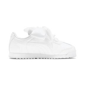 Miniatura 5 de Zapatos de charol Roma Heart para niña pequeña, Puma White, mediano