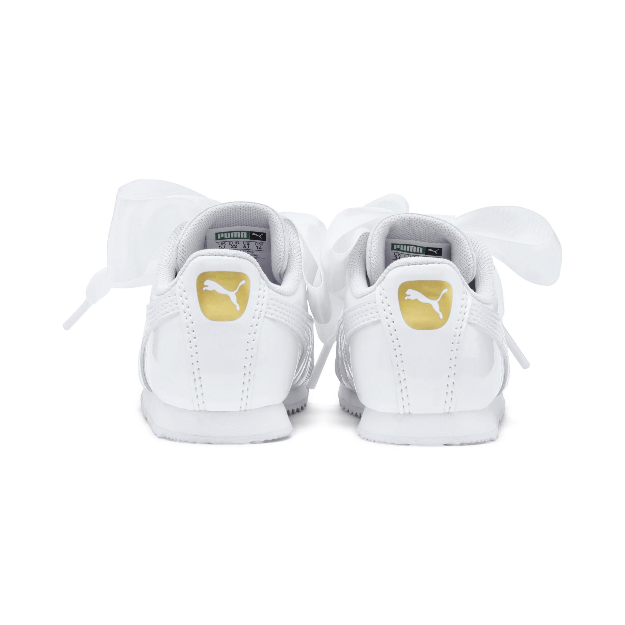 PUMA-Roma-Heart-Patent-Toddler-Shoes-Girls-Shoe-Kids thumbnail 9