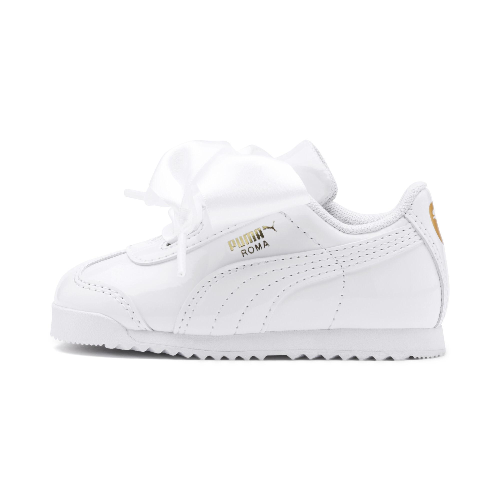 PUMA-Roma-Heart-Patent-Toddler-Shoes-Girls-Shoe-Kids thumbnail 10
