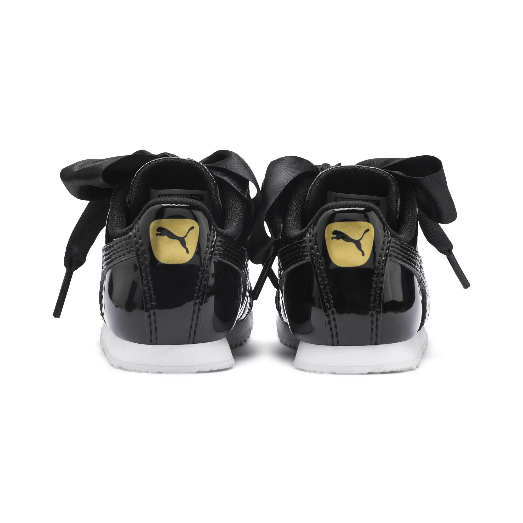 PUMA-Roma-Heart-Patent-Toddler-Shoes-Girls-Shoe-Kids thumbnail 3