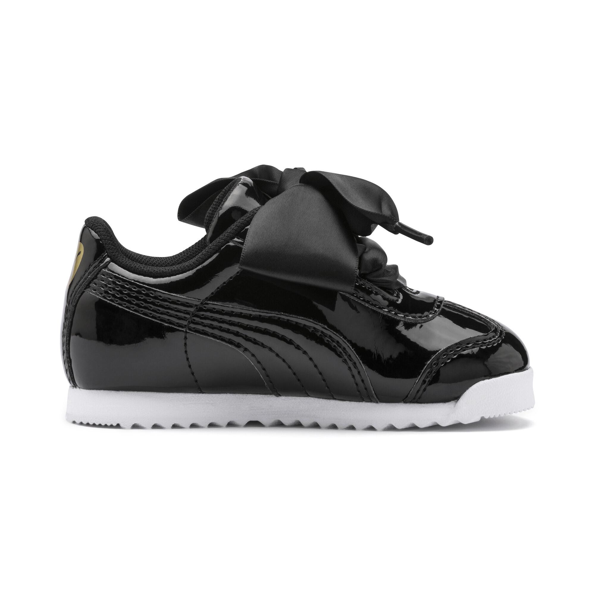PUMA-Roma-Heart-Patent-Toddler-Shoes-Girls-Shoe-Kids thumbnail 6