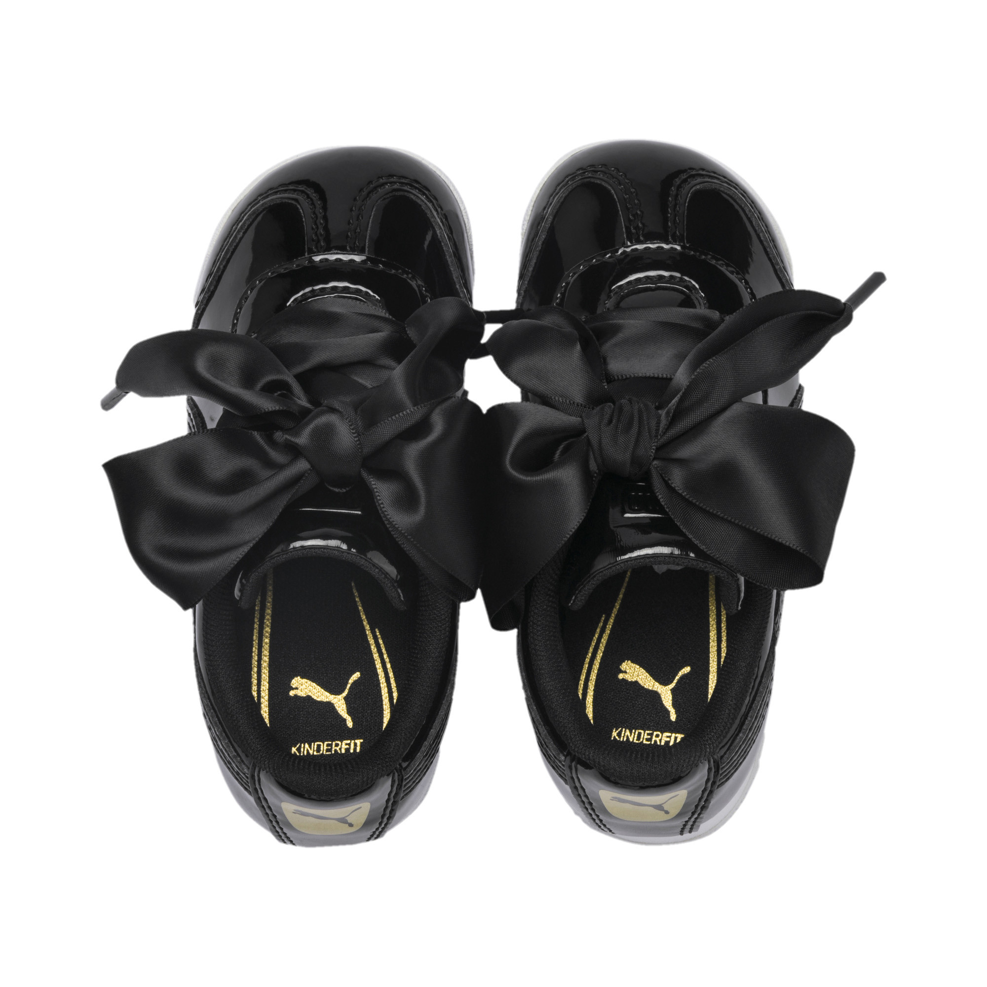 PUMA-Roma-Heart-Patent-Toddler-Shoes-Girls-Shoe-Kids thumbnail 7