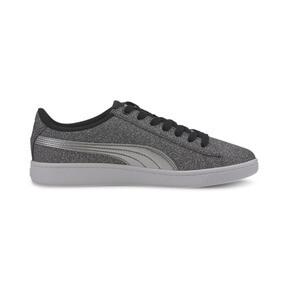 Thumbnail 5 of PUMA Vikky v2 Glitz Sneakers JR, Puma Black-Puma Silver-White, medium