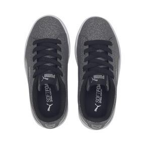 Thumbnail 6 of PUMA Vikky v2 Glitz AC Sneakers PS, Puma Black-Silver-White, medium