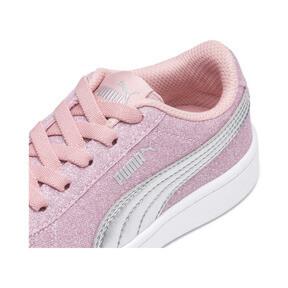 Miniatura 7 de Zapatos deportivos PUMA Vikky v2 Glitz AC PS, Bridal Rose-Silver-White, mediano
