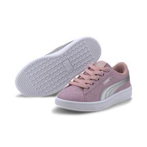 Miniatura 2 de Zapatos deportivos PUMA Vikky v2 Glitz AC PS, Bridal Rose-Silver-White, mediano