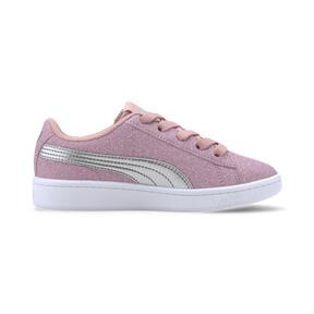 Miniatura 5 de Zapatos deportivos PUMA Vikky v2 Glitz AC PS, Bridal Rose-Silver-White, mediano