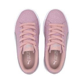 Miniatura 6 de Zapatos deportivos PUMA Vikky v2 Glitz AC PS, Bridal Rose-Silver-White, mediano