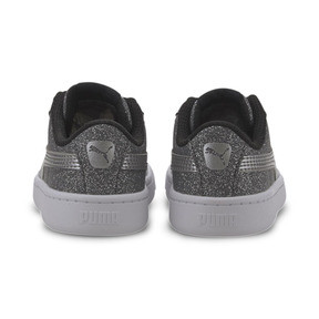 Thumbnail 3 of PUMA Vikky v2 Glitz AC Sneakers INF, Puma Black-Silver-White, medium