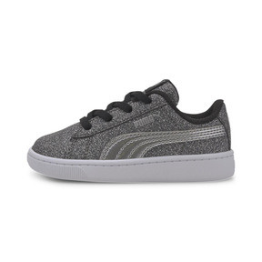 Thumbnail 1 of PUMA Vikky v2 Glitz AC Sneakers INF, Puma Black-Silver-White, medium