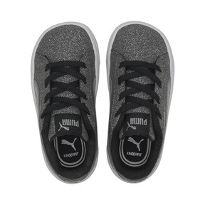 Thumbnail 6 of PUMA Vikky v2 Glitz AC Sneakers INF, Puma Black-Silver-White, medium