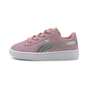 Thumbnail 1 of PUMA Vikky v2 Glitz AC Sneakers INF, Bridal Rose-Silver-White, medium