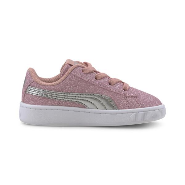 PUMA Vikky v2 Glitz AC Sneakers INF, Bridal Rose-Silver-White, large