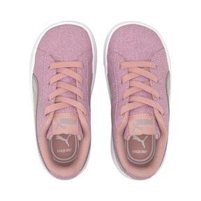Thumbnail 6 of PUMA Vikky v2 Glitz AC Sneakers INF, Bridal Rose-Silver-White, medium