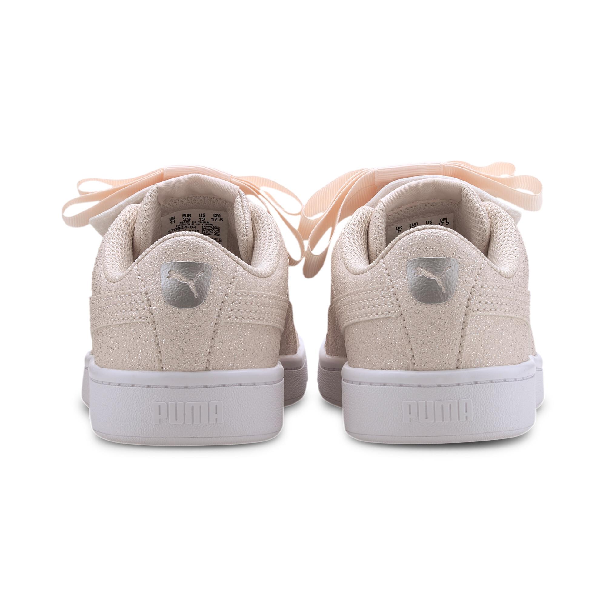 PUMA-Vikky-v2-Ribbon-Glitz-Little-Kids-039-Shoes-Girls-Shoe-Kids thumbnail 3