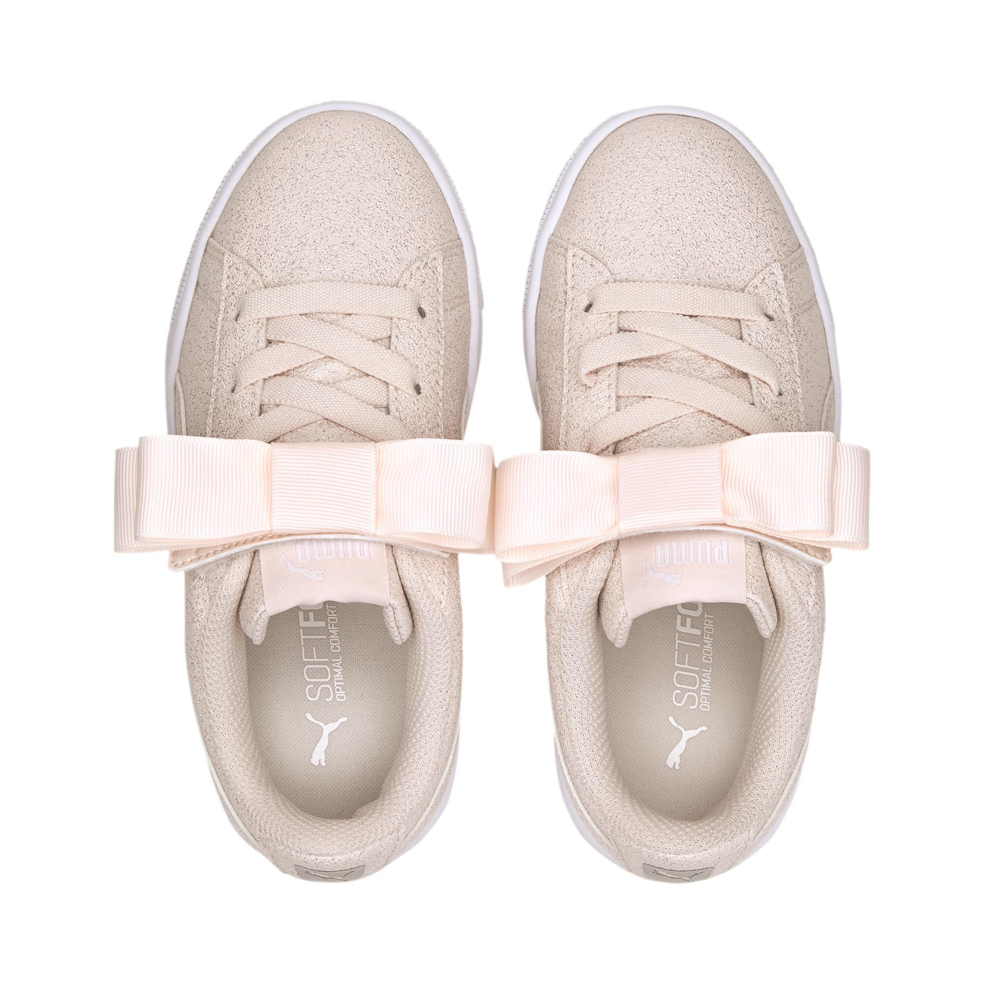 PUMA-Vikky-v2-Ribbon-Glitz-Little-Kids-039-Shoes-Girls-Shoe-Kids thumbnail 7