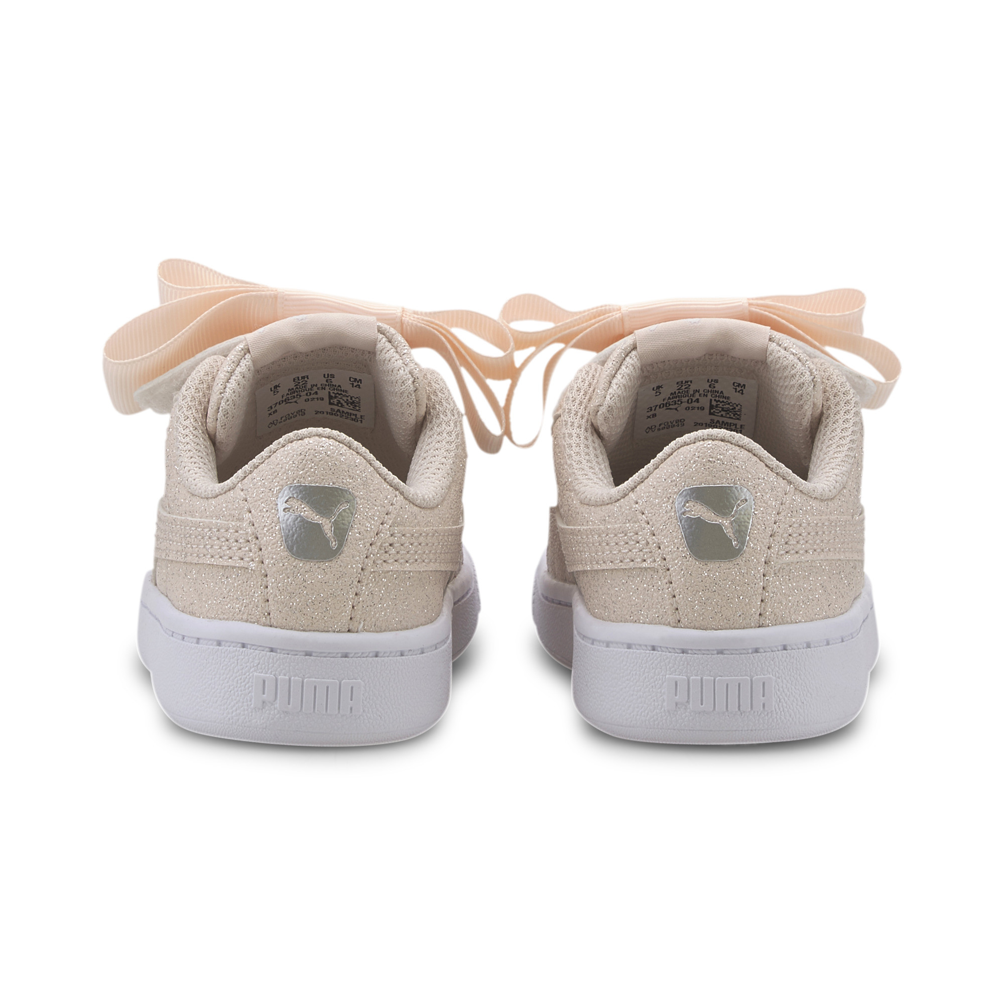 PUMA-Vikky-v2-Ribbon-Glitz-Toddler-Shoes-Girls-Shoe-Kids thumbnail 3