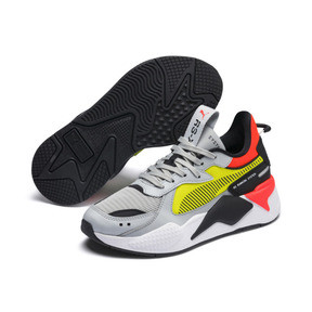 Thumbnail 2 of RS-X Hard Drive Youth Trainers, High Rise-Yellow Alert, medium