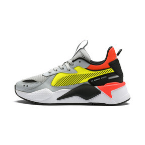 Thumbnail 1 of RS-X Hard Drive Youth Trainers, High Rise-Yellow Alert, medium