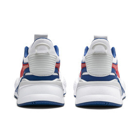 Thumbnail 3 of RS-X Hard Drive Youth Trainers, Puma White-High Risk Red, medium