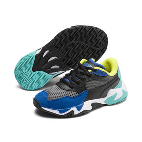 Thumbnail 2 of Storm Origin Kids' Trainers, Galaxy Blue-CASTLEROCK, medium