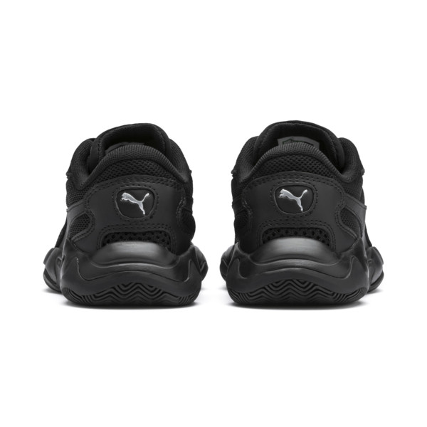 Storm Origin Kids' Trainers, Puma Black, large