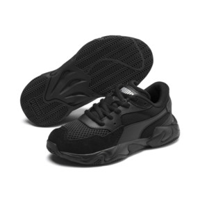 Thumbnail 2 of Storm Origin Kids' Trainers, Puma Black, medium