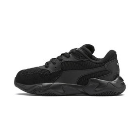 Thumbnail 1 of Storm Origin Kids' Trainers, Puma Black, medium