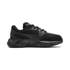 Thumbnail 5 of Storm Origin Kids' Trainers, Puma Black, medium