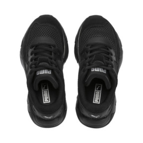 Thumbnail 6 of Storm Origin Kids' Trainers, Puma Black, medium