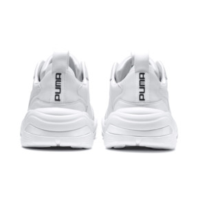 Thumbnail 3 of Thunder Leather Trainers, Puma White, medium
