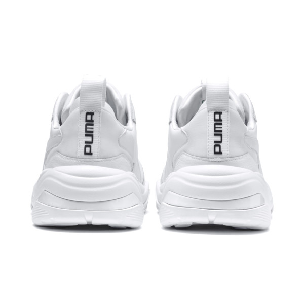 Thunder Leather Trainers, Puma White, large