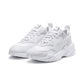 Thumbnail 2 of Thunder Leather Trainers, Puma White, medium