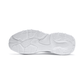 Thumbnail 4 of Thunder Leather Trainers, Puma White, medium