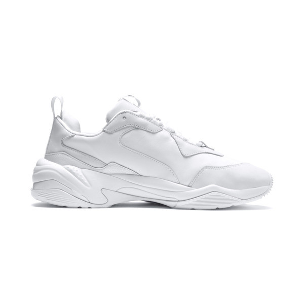 Thunder Leather Sneaker, Puma White, large