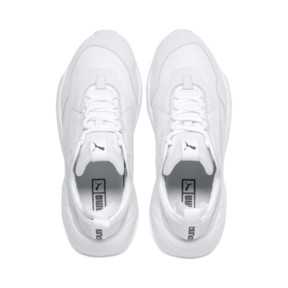 Thumbnail 6 of Thunder Leather Trainers, Puma White, medium
