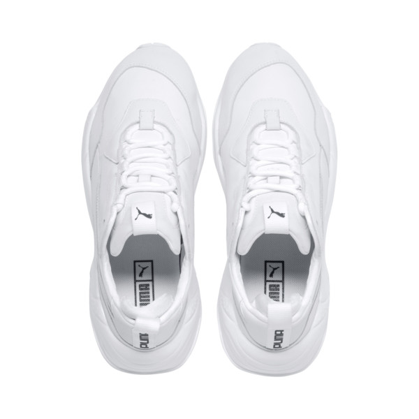 Thunder Leather sportschoenen, Puma White, large