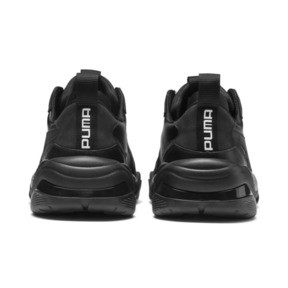 Thumbnail 4 of Thunder Leather Trainers, Puma Black, medium